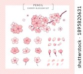 element vector illustration set ... | Shutterstock .eps vector #1895820631