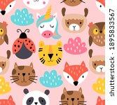 seamless pattern background... | Shutterstock .eps vector #1895833567