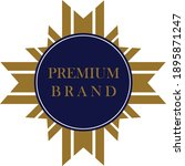 quality brand badge for product ... | Shutterstock .eps vector #1895871247