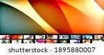 geometric minimal abstract... | Shutterstock .eps vector #1895880007