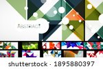 geometric minimal abstract... | Shutterstock .eps vector #1895880397