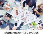 design team planning for a new...   Shutterstock . vector #189590255
