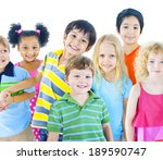 group of children | Shutterstock . vector #189590747