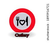simple cutlery icons  vector ...