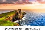 Colorful Ocean Coast Panoramic...