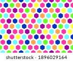 Honeycomb Seamless Background....