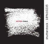 chalk texture grungy banner....   Shutterstock .eps vector #189610235