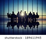 management team | Shutterstock . vector #189611945