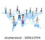 global communication | Shutterstock . vector #189611954