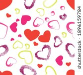 vector seamless pattern design  ...   Shutterstock .eps vector #1896159784