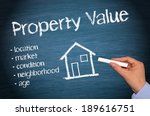 Property Value - Real Estate Concept - stock photo