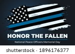 peace officers memorial day.... | Shutterstock .eps vector #1896176377