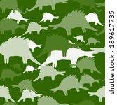 seamless vector pattern of... | Shutterstock .eps vector #189617735