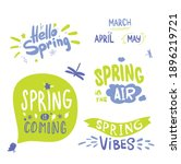 Colorful Spring Lettering....