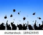 diverse international students... | Shutterstock . vector #189624545