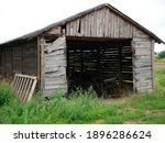 A Beautiful Old Farm Shed Left...