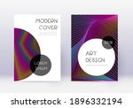 trendy cover design template... | Shutterstock .eps vector #1896332194