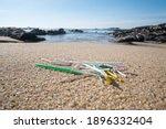 Pile Of Single Use Plastic...