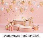 3d rendering of minimal scene... | Shutterstock . vector #1896347821