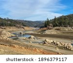 Granite And River Valley Along...