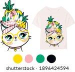 cute print for children's... | Shutterstock .eps vector #1896424594