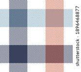 buffalo plaid pattern in blue ...   Shutterstock .eps vector #1896468877
