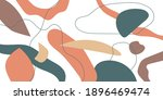 a composition with abstract... | Shutterstock .eps vector #1896469474