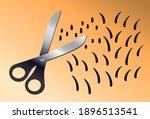 Shaving Pubic Hair With Scissor ...