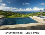 Pool And Hot Tub Overlooking...