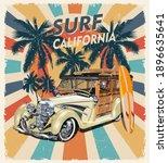 california typography for t... | Shutterstock .eps vector #1896635641