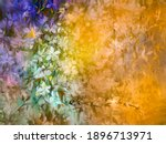 abstract oil painting of... | Shutterstock . vector #1896713971