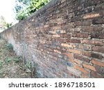 Old Brick Wall  Background And...