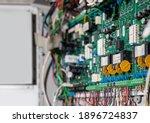 Defocused Circuit Board Or...