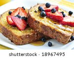 Breakfast Of French Toast With...
