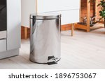 Clean Trash Bin In Modern...