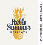 vector banner with a ripe... | Shutterstock .eps vector #1896756361