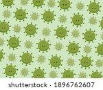 virus coronavirus graphic... | Shutterstock .eps vector #1896762607