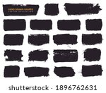 paint brush stains and grunge... | Shutterstock .eps vector #1896762631