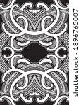 polynesian samoa ornament... | Shutterstock .eps vector #1896765007