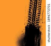 offroad grunge vector tyre...   Shutterstock .eps vector #1896773701