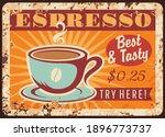 Coffeehouse Espresso Rusty...