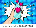 happy valentine's day greeting...   Shutterstock .eps vector #1896882784