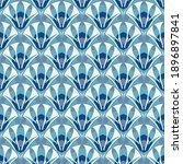 art deco abstract seamless...   Shutterstock .eps vector #1896897841