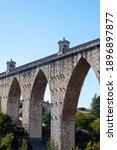 """The Aqueduct Of """"aguas Livres""""  ..."""