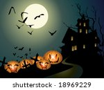 halloween illustration | Shutterstock .eps vector #18969229