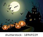 halloween illustration   Shutterstock .eps vector #18969229