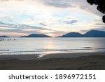 Gulf Of La Spezia During Sunset ...