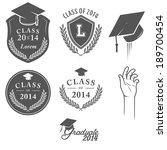 Set Of Vintage Graduation...