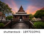 Water Hall Hor Trai Wat Thung...