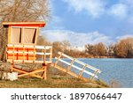 A Lonely Wooden Lifeguard House ...